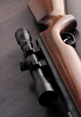 rifle close-up | Weatherstationary.com