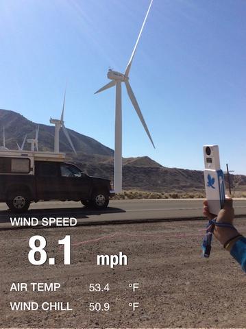 WeatherHawk myMet - Wind Farms