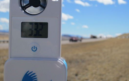 WeatherHawk myMet digital Wind Meter