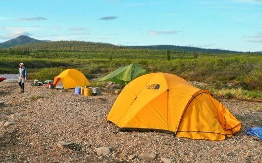 best weather for camping