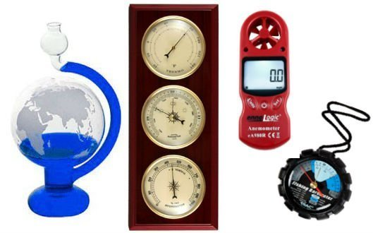 Gadgets to measure barometric pressure
