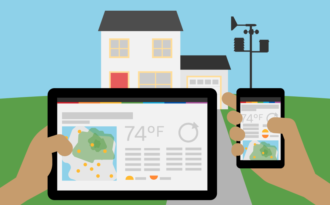 Accurate Weather Data At Home Or On The Go