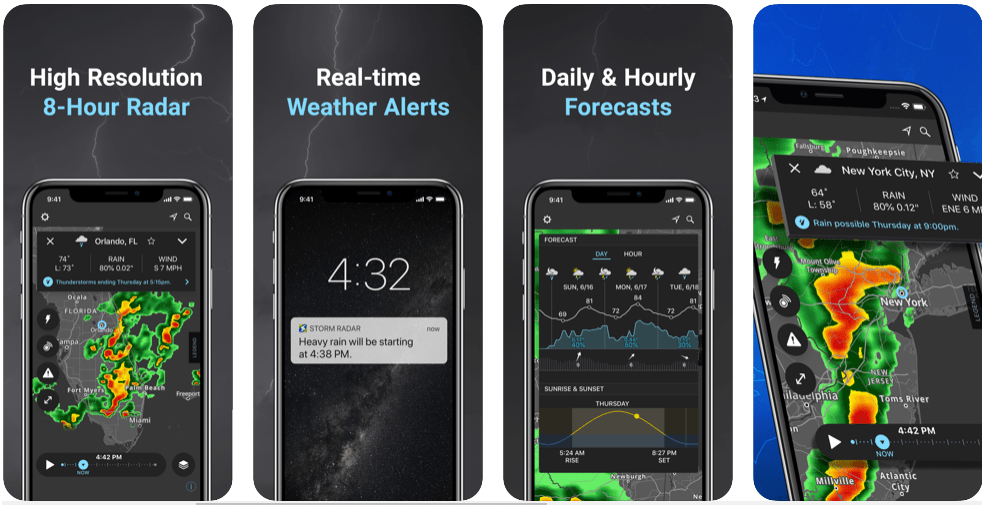 Storm radar for iphone