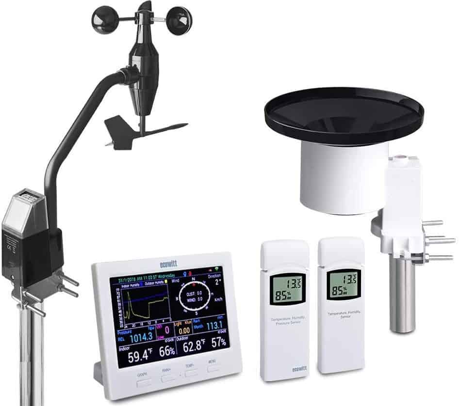 best solar powered weather stations