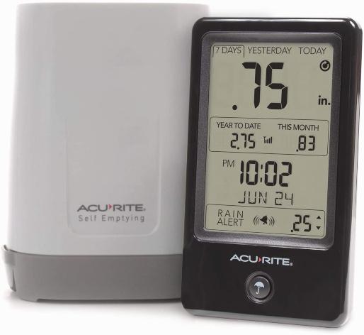 Acurite 02446M rain gauge