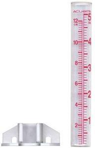 Acurite glass rain gauge