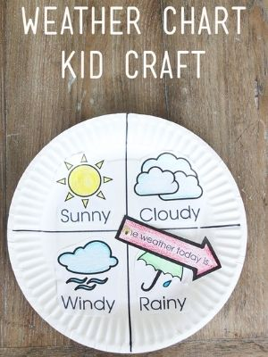 create a weather chart for kids